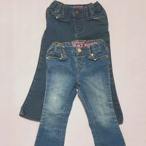 Lot of 2 Girls 3T The Children's Place jeans